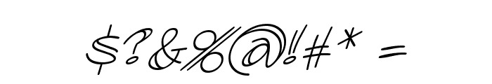 AtlandSketchesBB-Italic Font OTHER CHARS