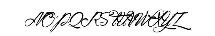 Atlantide Starlight Font UPPERCASE