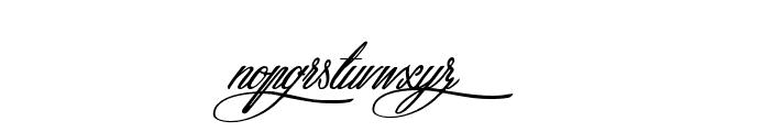 Atlantide Starlight Font LOWERCASE