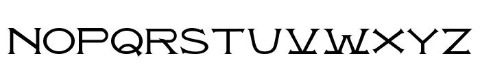 Atlantis MF Font LOWERCASE