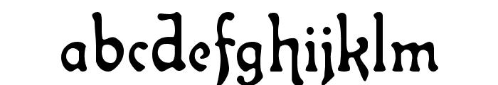 Atlantis Medium Font LOWERCASE