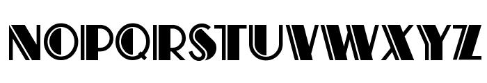 Atlas Solid Font UPPERCASE
