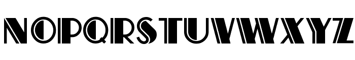 Atlas Solid Font LOWERCASE