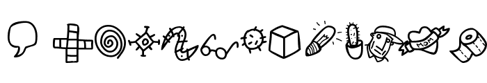 Atman dings Font UPPERCASE