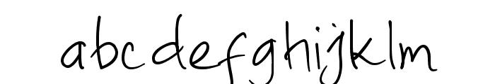Ato Light Font LOWERCASE