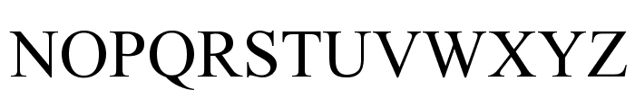 Atom Font UPPERCASE