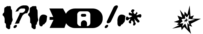 AtomBomb Speedster Font OTHER CHARS