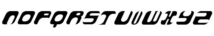 AtomBomb Speedster Font UPPERCASE