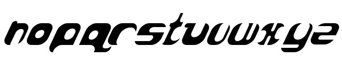AtomBomb Speedster Font LOWERCASE