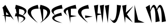Atomic Plain Font UPPERCASE
