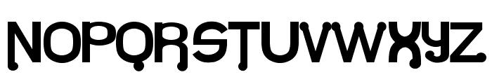 Atomium Font UPPERCASE