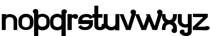 Atomium Font LOWERCASE