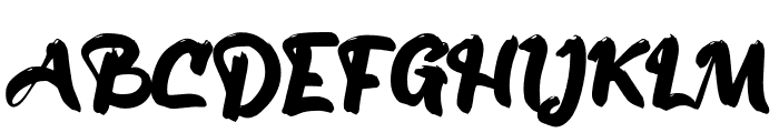 Atos_ Font UPPERCASE