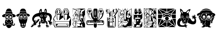 Atradimas Regular Font LOWERCASE
