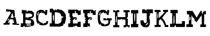 Attack on Courier Font UPPERCASE