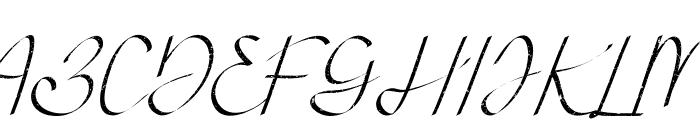 Atthia Vintage Font UPPERCASE