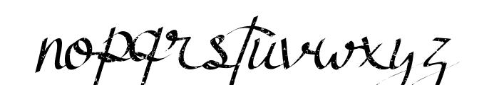 Atthia Vintage Font LOWERCASE