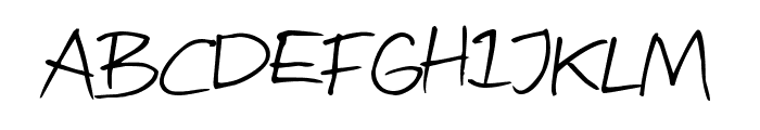 Attract more women Font LOWERCASE