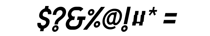 Attracted Monday Italic Font OTHER CHARS