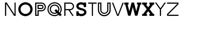 AT Move Altera Regular Font UPPERCASE