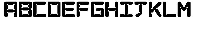 AT Move Art Regular Font UPPERCASE