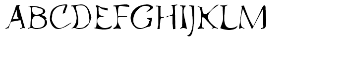 Atlantic Sea Washed Regular Font UPPERCASE