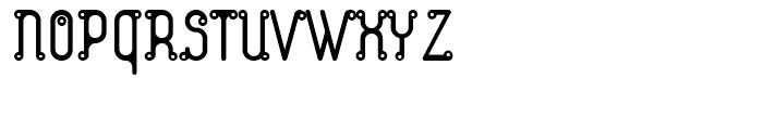 Atom Zarb Font UPPERCASE
