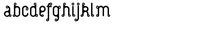 Atom Zarb Font LOWERCASE