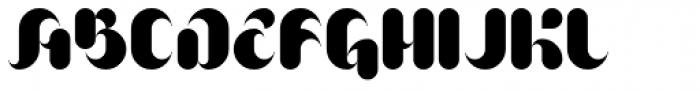 AT Brushure Font UPPERCASE