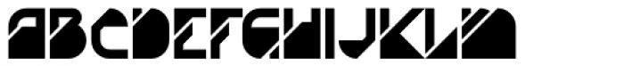 AT Diagona Fill Font UPPERCASE