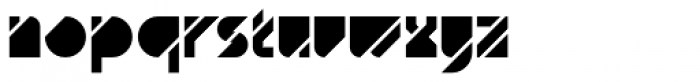 AT Diagona Fill Font LOWERCASE