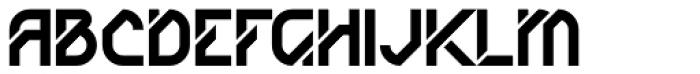 AT Diagona Font UPPERCASE