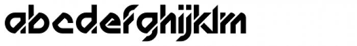 AT Diagona Font LOWERCASE