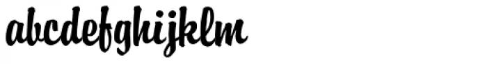 ATBrophy Script Font LOWERCASE