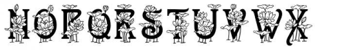 ATLotus Font UPPERCASE
