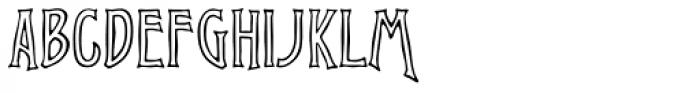 ATVirile Open Font UPPERCASE