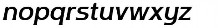 Ata 66 Medium Slant Font LOWERCASE