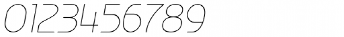Ata Rounded 26 Thin Slant Font OTHER CHARS