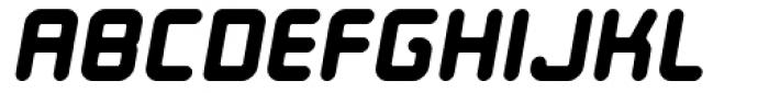 Ataribaby Bold Oblique Font UPPERCASE