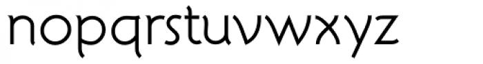 Atelier Sans Book Font LOWERCASE