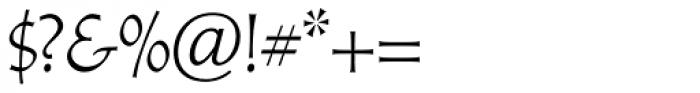 Athenaeum Pro Regular Font OTHER CHARS
