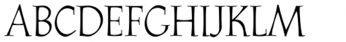Athenaeum Pro Regular Font UPPERCASE