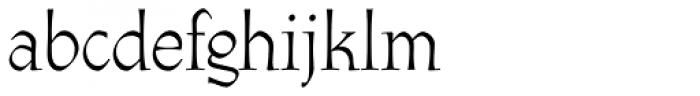 Athenaeum Pro Regular Font LOWERCASE