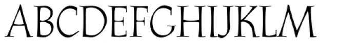 Athenaeum Std Regular Font UPPERCASE