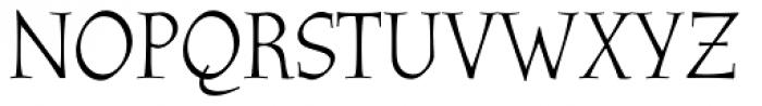 Athenaeum Font UPPERCASE