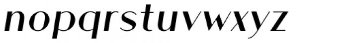 Athens Regular Italic Font LOWERCASE