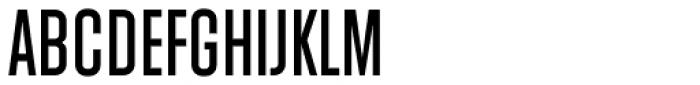 Athletic Condensed Regular Font UPPERCASE