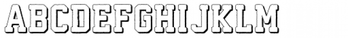 Athletico 3D Font UPPERCASE