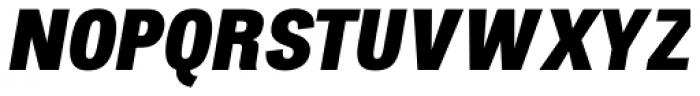 Atiga Black Italic Font UPPERCASE