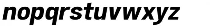 Atiga Bold Italic Font LOWERCASE